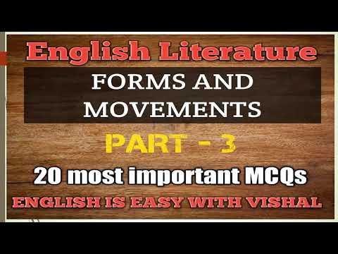 #9 English literature Questions MCQs, important questions for DSSSB KVS NVS TGT PGT LT grade English