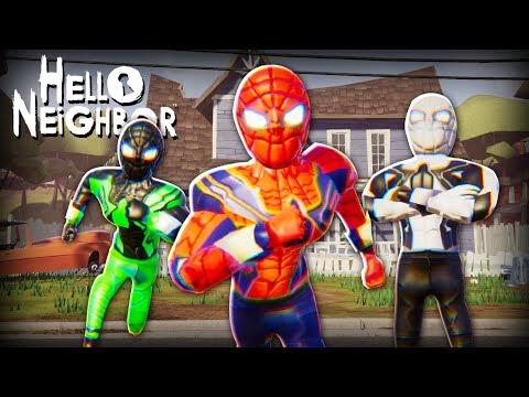 Hello Neighbor Spiderman MOD!