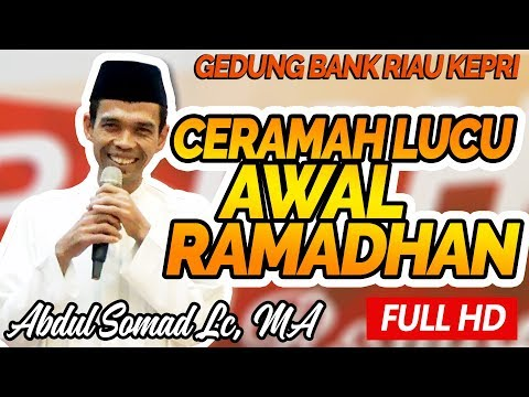 Ceramah Lucu Awal Ramadhan Bersama Ustadz Abdul Somad Lc, MA - Bank Riau Kepri
