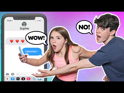 Piper Rockelle Reacts To My IPHONE CHALLENGE **FUNNY**  Jentzen Ramirez