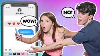 Piper Rockelle Reacts to My IPHONE CHALLENGE **FUNNY** |Jentzen Ramirez