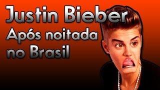 Novo vídeo flagrante de Justin Bieber após noitada no Brasil