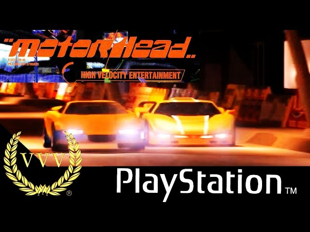 Motorhead - Playstation 1 Gameplay