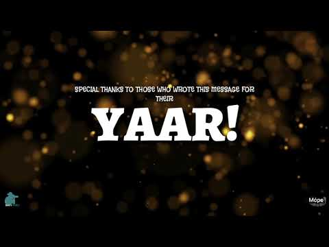 Tera yaar ho main | real life friendship | QISMAT | THE MUSICAL SHORT FILM | SOON | SAGARS PICTURES
