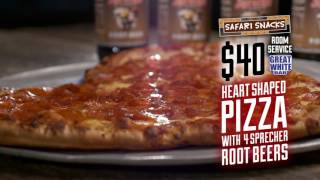 Wisconsin Dells - February Heart Shaped Pizza Specials