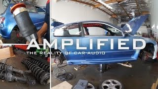 AirLift Strut Bags - Honda Civic Gets Air Suspension Part 1 - Amplified #126