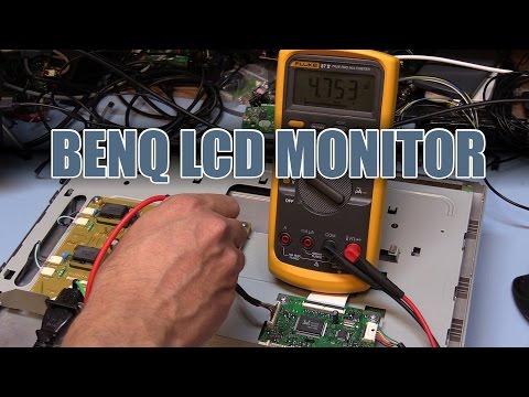 SDGEE #015 Benq LCD Monitor Teardown and Repair