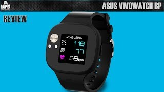 ASUS VivoWatch BP HC-A04 - Smartwatch review (CZ)