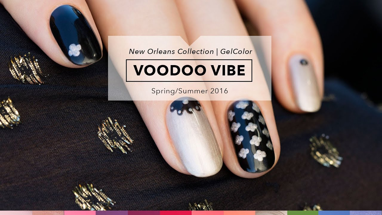 OPI GelColor Tutorial | New Orleans Collection | Voodoo Vibe - YouTube