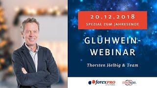 20.12.2018 Live-Handel mit Thorsten Helbig & Team (forexPRO-Systeme)