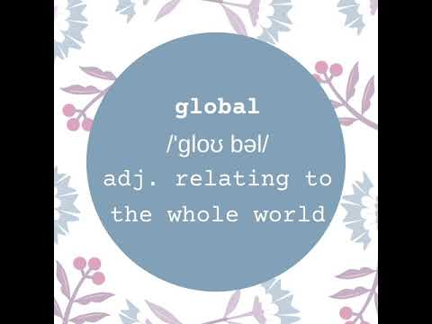 A word a day keeps the dictionary away - global
