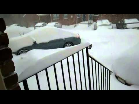 Snow Storm Jonas @ Parsippany New Jersey 2016