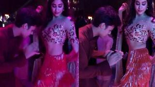 Sridevi's Daughter Jhanvi Kapoor's WILD Dance Moves