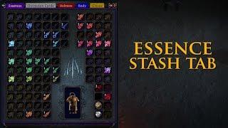 Path of Exile: Essence Tab