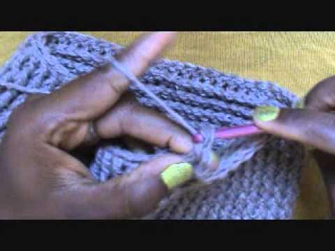 Crocheting Freely! Make the Vertizontal Slouch Hat Crochet A Long
