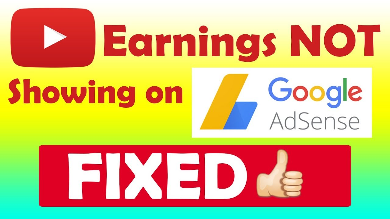 YouTube Earnings Not Updating in Adsense After 19th June 2018? FIXED!