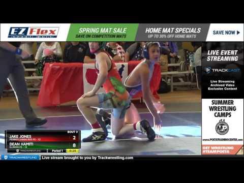 105 Jake Jones Pennsylvania Red FS vs Dean Hamiti Illinois FS 6919637104
