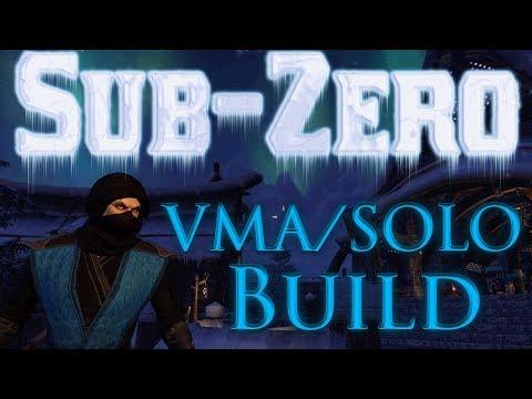 ESO Sub-zero Mag Warden PVE Build for VMA & SOLO
