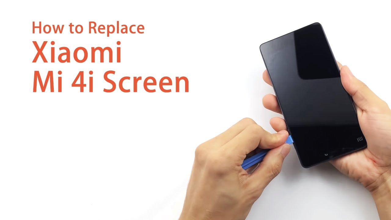 Black Full LCD Display and Touch Screen for Xiaomi Mi 4i