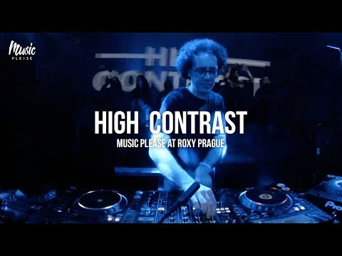 HIGH CONTRAST  Music Please at Roxy Prague