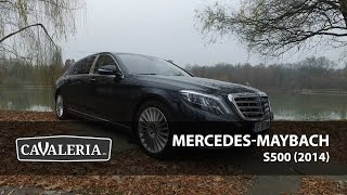 Mercedes-Maybach S500 (2014) - Cavaleria.ro