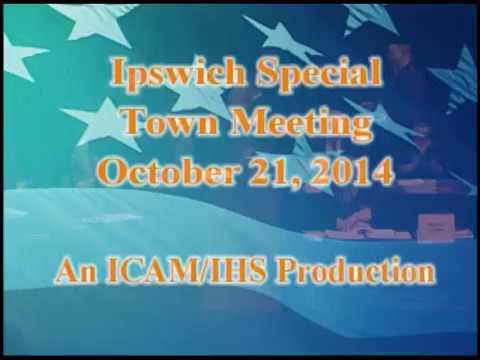 Town Meeting 10-21-2014
