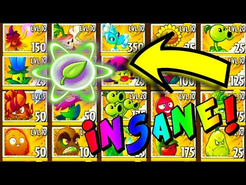 😎 ALL PLANTS BOOSTED! THE STRONGEST PLANTS VS ZOMBIES 2 STRATEGY EVER!!! 😎