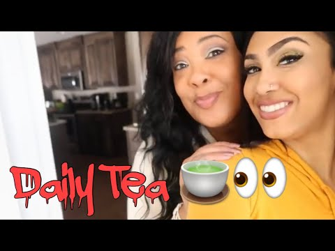 Queen Naija SURPRISED HER MOM WITH 🍵👀