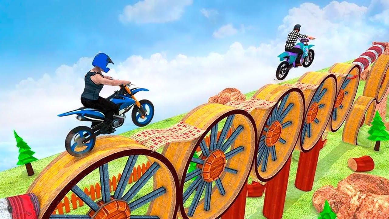 Stunt Bike Trials 2019 Dirt Bike Games Gameplay