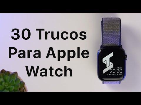 Tips Para Usar Apple Watch - 30 Trucos