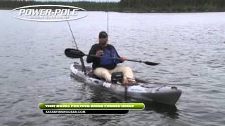kayak bassin tv trophy pike fishing