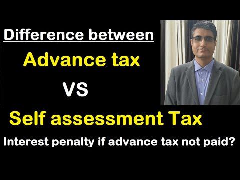 difference-advanced-tax-vs-self-assessment-tax-in-hindi- -sahaj-info