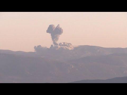 """""""Olivenzweig"""": Türkei bombardiert kurdische Stellungen in Syrien"""