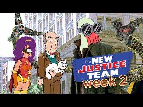 Doc Lobster! New Justice Team week 2 -- Futurama, Worlds of Tomorrow thumbnail