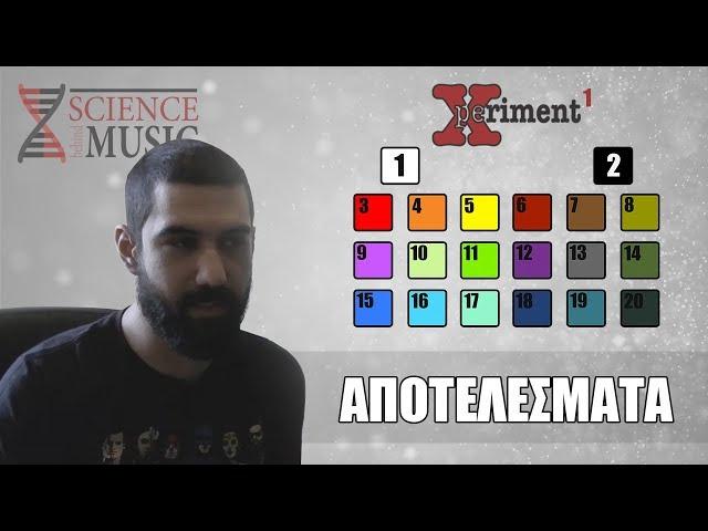Xperiment - 1 - Αποτελέσματα