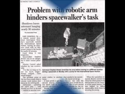 Richmond Times Dispatch Newspaper photo shows Extraterrestrials