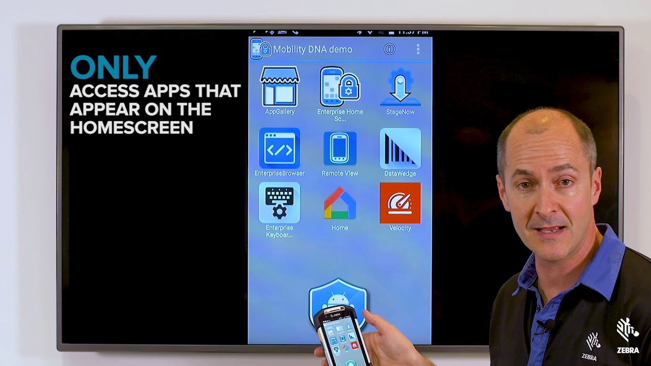 Zebra Mobility DNA: It's a Zebra Android™ Tool – Enterprise Home Screen