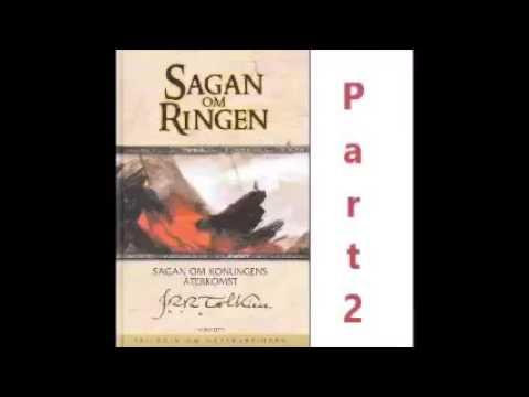 Sagan om Ringen Part 2 JRR Tolkien Svenska Ljudbok / Audiobook