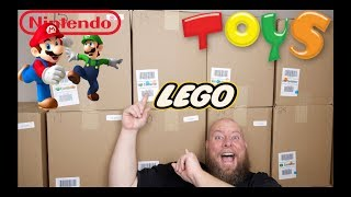 PURCHASED A $2,002 Amazon Customer Returns TOYS Pallet  + LEGO & MARIO Collectibles!
