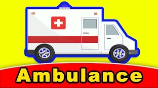 Ambulance Emergency Vehicles BUILD WITH PAZZLES