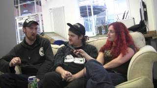 The Afternoon Gentlemen interview @ Damnation Festival 2013