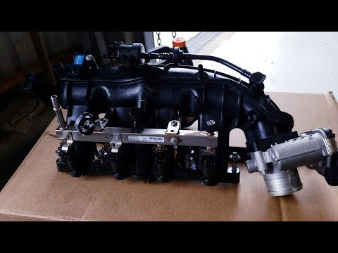 Intake Replacement On A Chevrolet Cruze With 1.4L