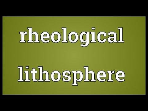 Header of lithosphere