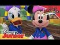 Comentaristas felices de Mickey y los Superpilotos