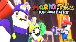 Mario + Rabbids Kingdom Battle: Super Mario ,Yoshi & Rabbid Mario vs Bwario & Bwaluigi (Boss Battle)