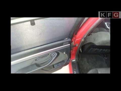 BMW E39 - Сборка шторок  в дверную панель