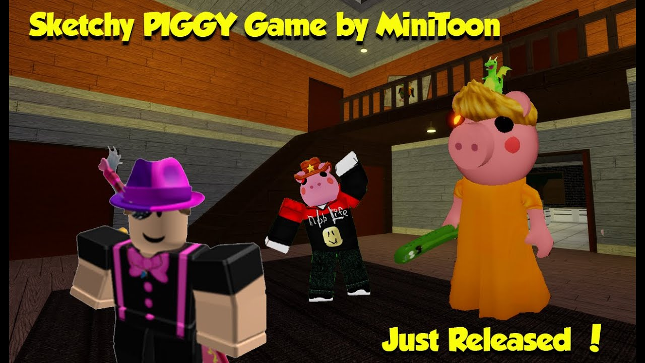 Minitoon Does Sketch The Pals New Member Minitoons Other Piggy
