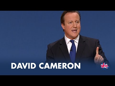 David Cameron: Speech to Conservative Party Conference 2014