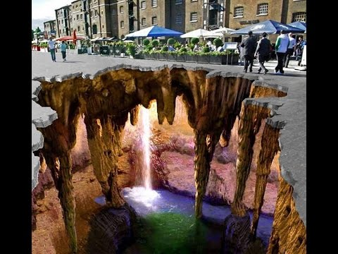 Most beautiful 3d Street Arts in World , Amazing Street Art