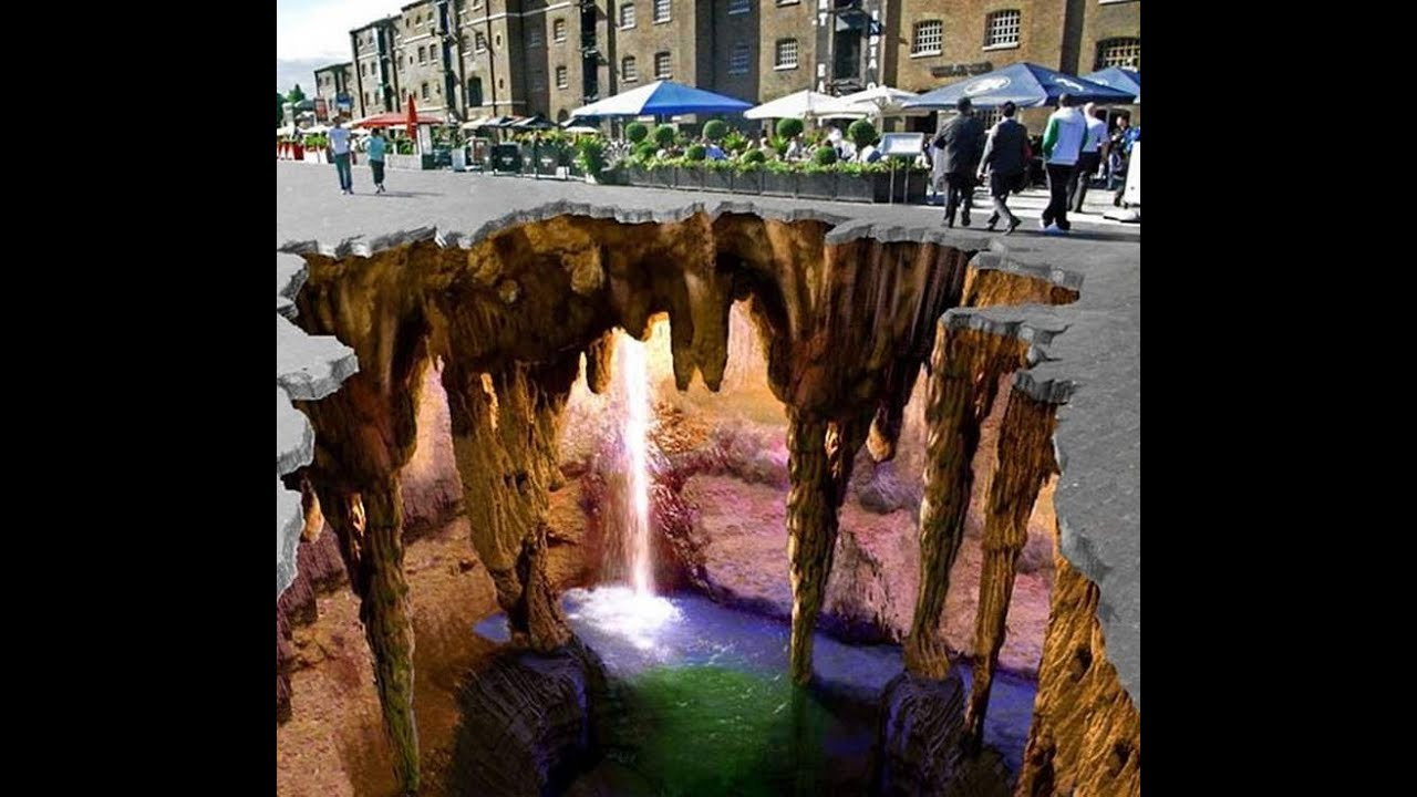 Most beautiful 3d Street Arts in World Amazing Street Art
